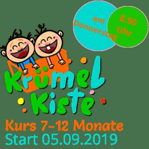 Eltern-Kind Kurs 7-12 Monate Donnerstags ab September