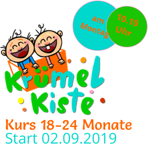 Eltern-Kind Kurs 18-24 Monate Montags ab September
