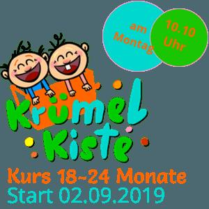 Eltern-Kind Kurs 18-24 Monate Montags ab September